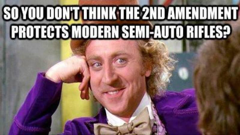 powerful meme destroys popular liberal gun control argument