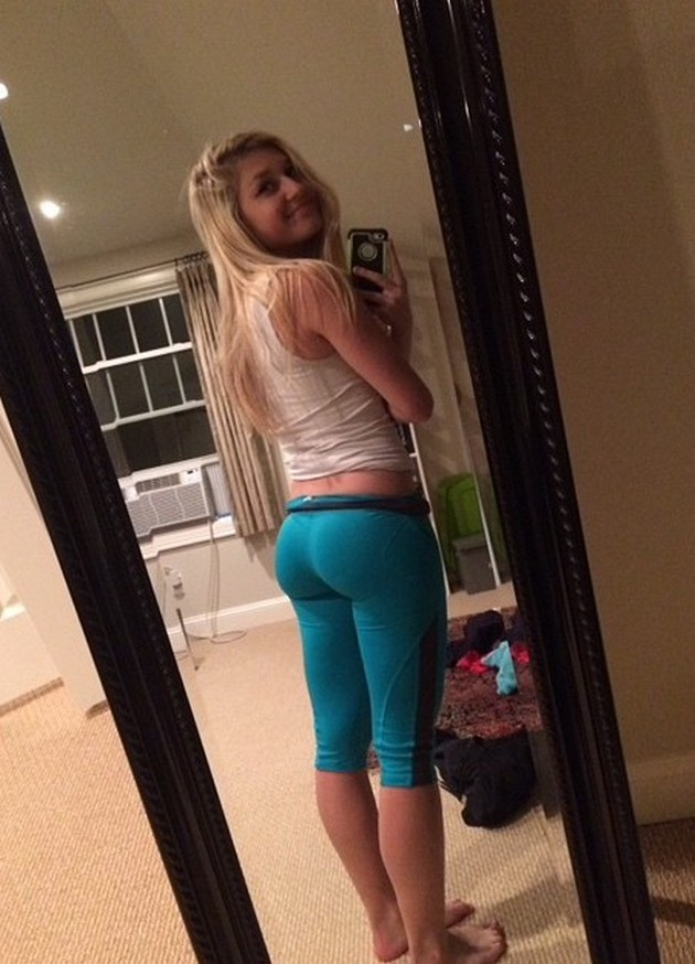teens in yoga pants