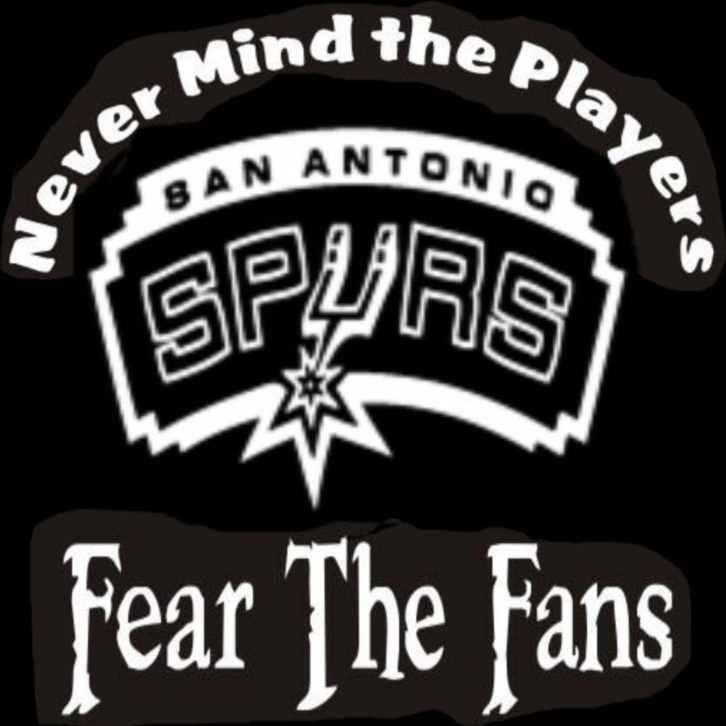 Fear the fans spurs for San antonio custom t shirts