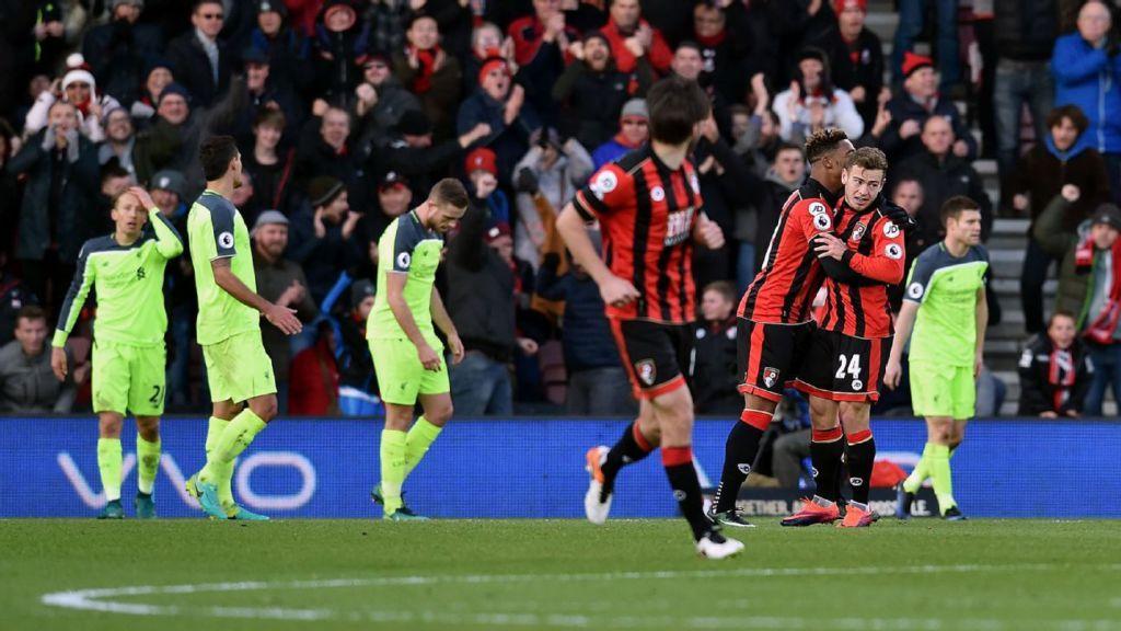 Liverpool Vs Bournemouth: Espn.co.uk On LockerDome