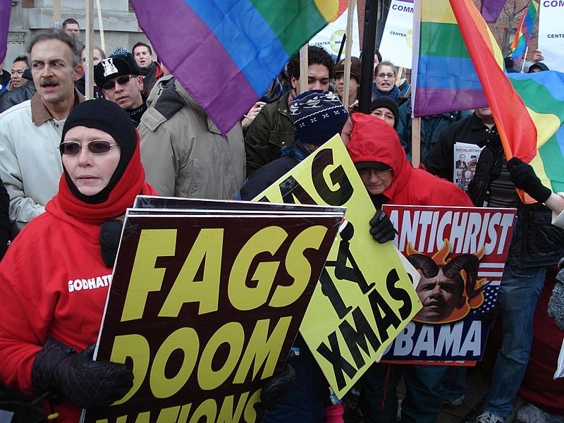 the westboro baptist church and their protest