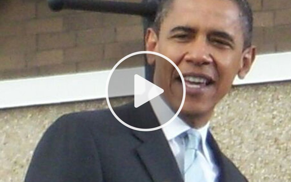 Watch Obama's Face At 0:33. This Leaked Video Will Ruin Him