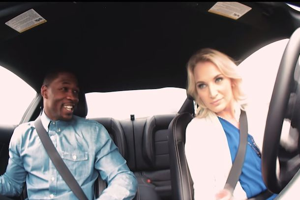 Speed dating with a stunt driver