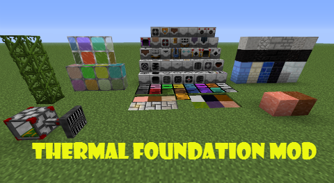 Мод Thermal Foundation для Minecraft 1.7.10 » Скачать моды ...
