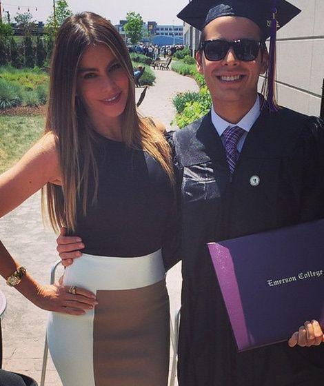 Sofia Vergara Celebrates Son Manolo's College Graduation ...