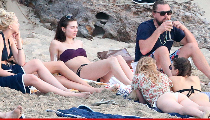 Best Island Beaches For Partying Mykonos St Barts: Leonardo DiCaprio -- Booze, Boobs & That Beard ... In