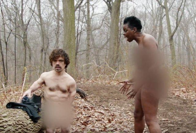 Peter Dinklage And Leslie Jones Get Naked And Afraid On Snl-3678