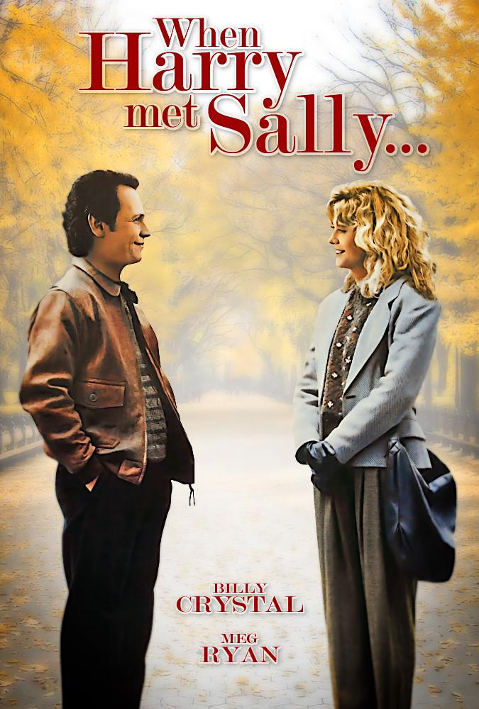 harry met sally Tonight's film, when harry met sally, was written by nora ephron and directed by rob reiner and was released in 1989, when it seemed to many to be little more than a kinder, gentler version of woody allen's annie hall of more than a.