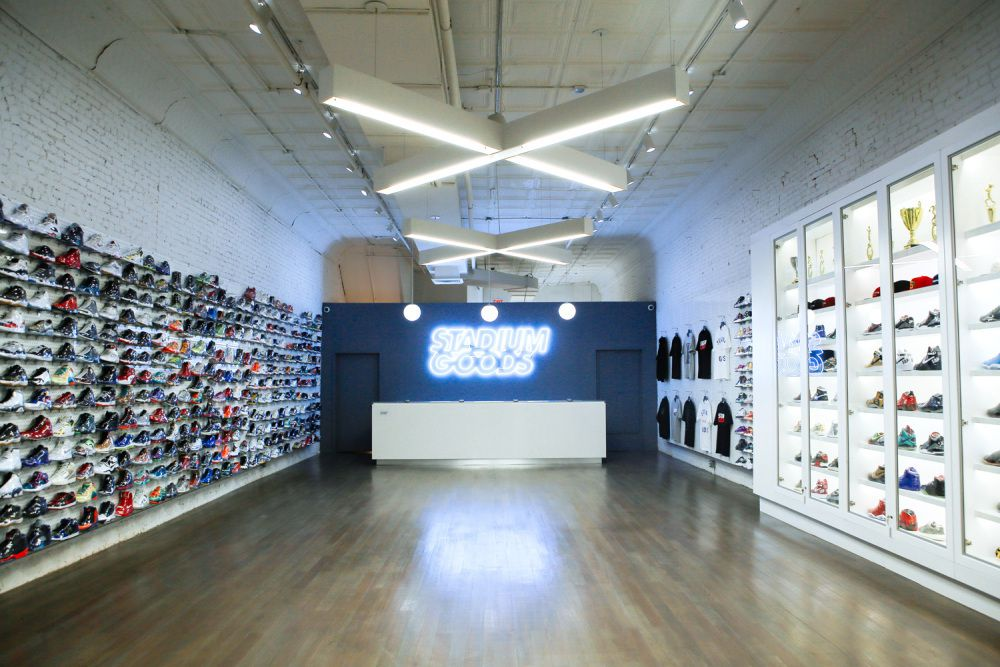 51f74526462 Take a Tour of NYCs Newest Sneaker Consignment Shop